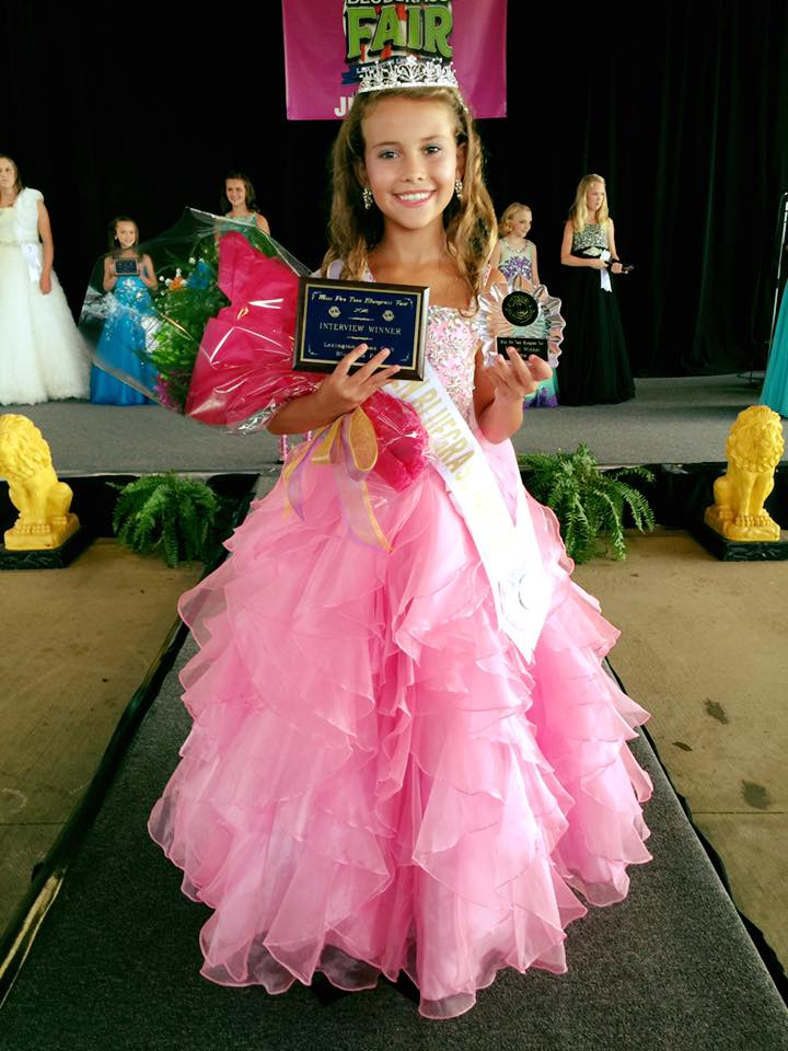 Miss Pre-Teen Bluegrass Fair